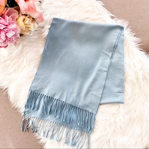Accessories - Light Blue Pashmina/Cashmere Scarf